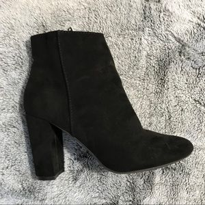 Material Girl Suede Boots